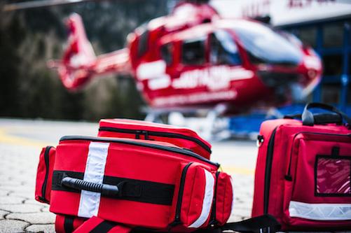 Avión para evacuación médica