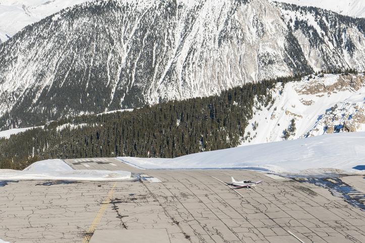 Courchevel private jet