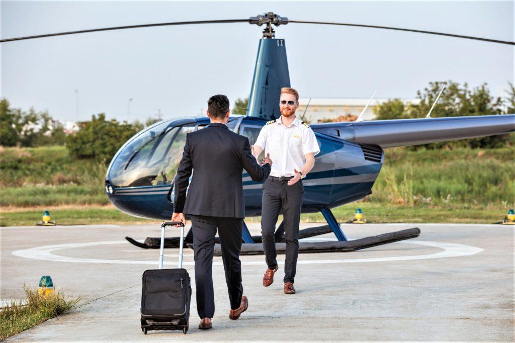 proceso de seguridad cuando vuelas con Private Jet Charter